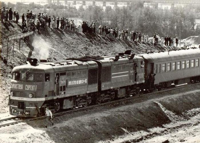 Первый поезд прибыл в Сургут