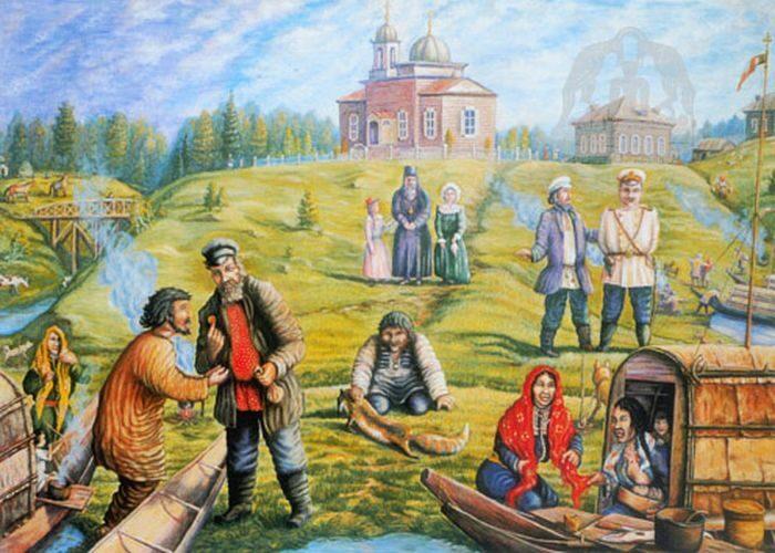 Ярмарки в Сургутском уезде