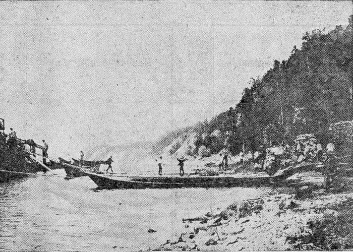 Построена Белоярская пристань