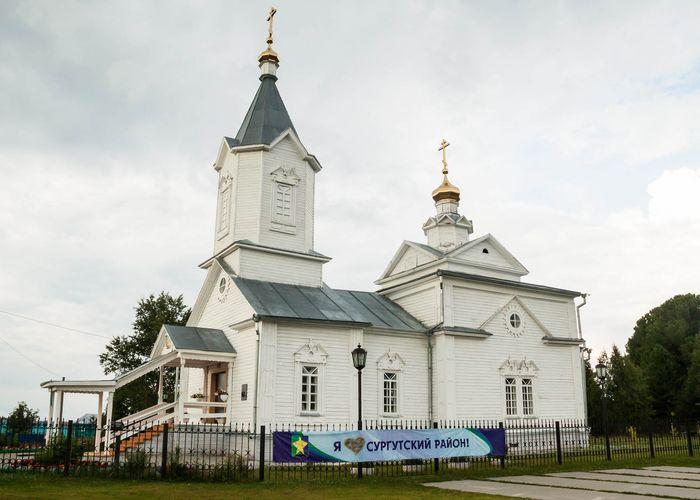 Возведена церковь Великомученика целителя Пантелеимона в с. Тундрино