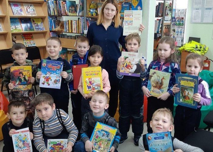 Открыта сельская библиотекав д. Русскинская