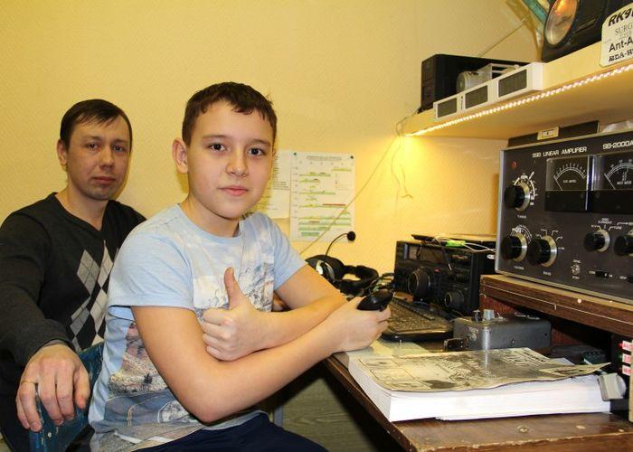 Создан радиоклуб «Меридиан» в п. Белый Яр