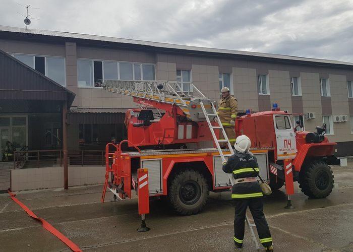 Создана военизированная пожарная часть в п. Фёдоровский